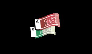 Clean Euros Dollars